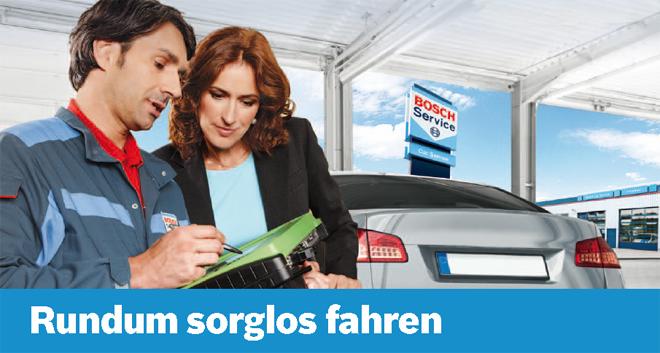 Bosch Service in Ihrem Autohaus Hannuschka